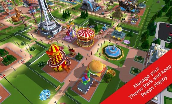 RollerCoaster Tycoon Touch Ekran Görüntüleri - 5