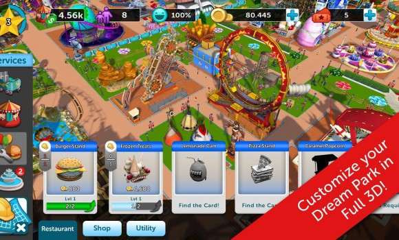 RollerCoaster Tycoon Touch Ekran Görüntüleri - 4