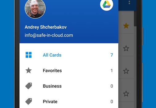 SafeInCloud Ekran Görüntüleri - 3