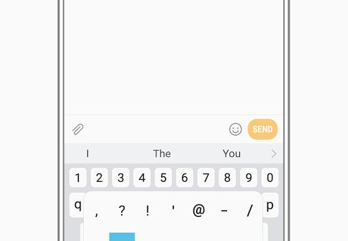 Samsung Keyboard Ekran Görüntüleri - 2