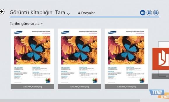 Samsung Printer Experience Ekran Görüntüleri - 2