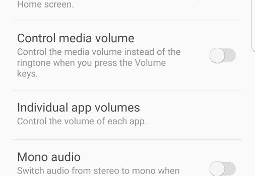 Samsung SoundAssistant Ekran Görüntüleri - 1