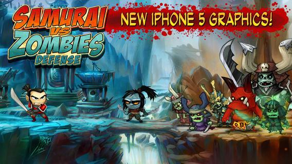 Samurai vs Zombies Defense Ekran Görüntüleri - 5