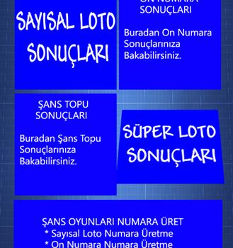 Şans Oyunları Sonuçları Ekran Görüntüleri - 3