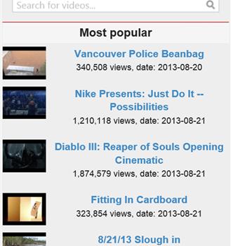 Search Youtube Videos Ekran Görüntüleri - 3