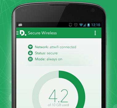 Secure Wireless Ekran Görüntüleri - 3