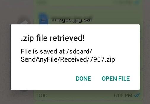 SendAnyFile Ekran Görüntüleri - 3