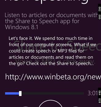 Share to Speech Ekran Görüntüleri - 3