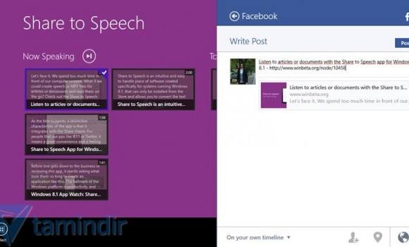 Share to Speech Ekran Görüntüleri - 1