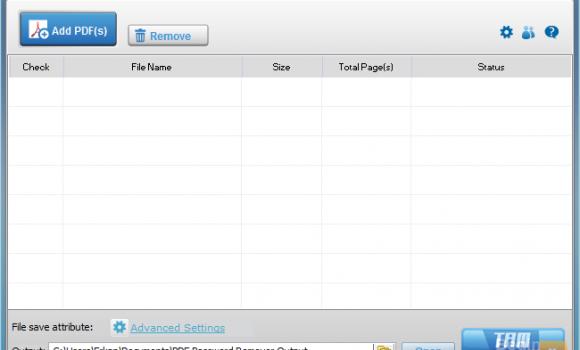 Simpo PDF Password Remover Ekran Görüntüleri - 1