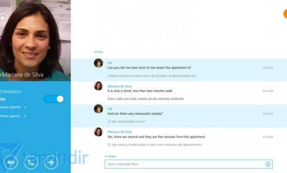 Skype Translator Ekran Görüntüleri - 1