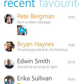Skype Ekran Görüntüleri - 2