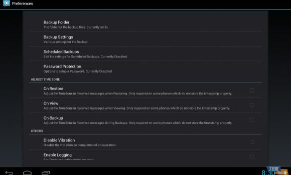 SMS Backup & Restore Ekran Görüntüleri - 2