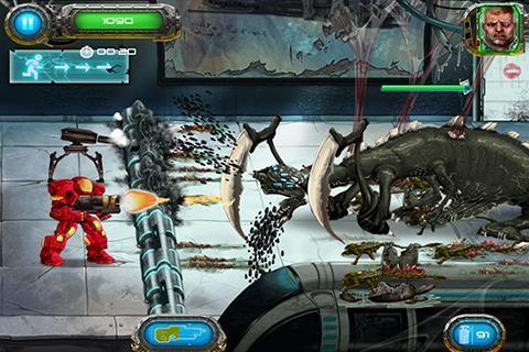 Soldier vs Aliens Ekran Görüntüleri - 1
