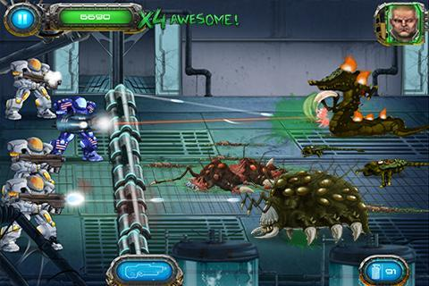 Soldier vs Aliens Ekran Görüntüleri - 2