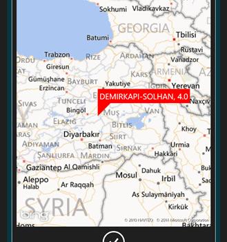 Son Depremler Ekran Görüntüleri - 1