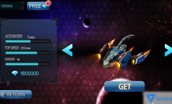 Space Racing 3D Ekran Görüntüleri - 1