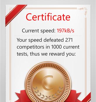 Speed Test Ekran Görüntüleri - 1