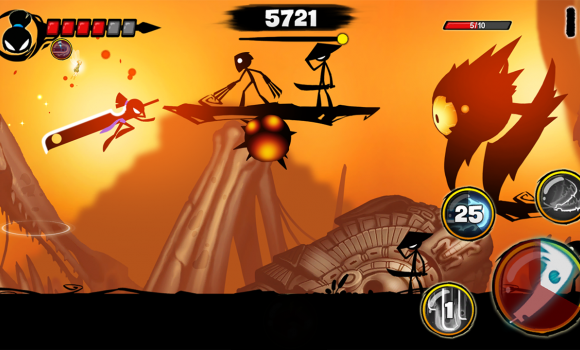 Stickman Revenge 3 Ekran Görüntüleri - 3