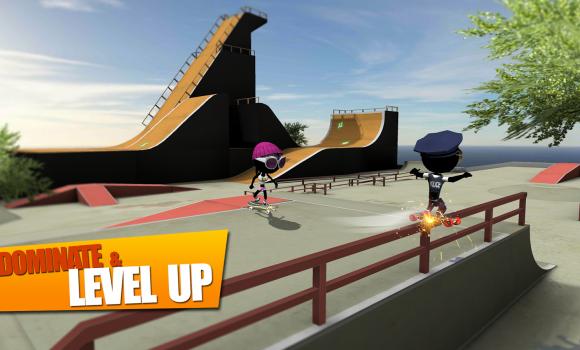 Stickman Skate Battle Ekran Görüntüleri - 5