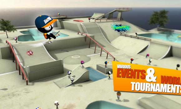 Stickman Skate Battle Ekran Görüntüleri - 2