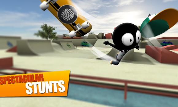Stickman Skate Battle Ekran Görüntüleri - 1