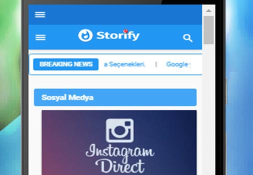 Storify Ekran Görüntüleri - 1