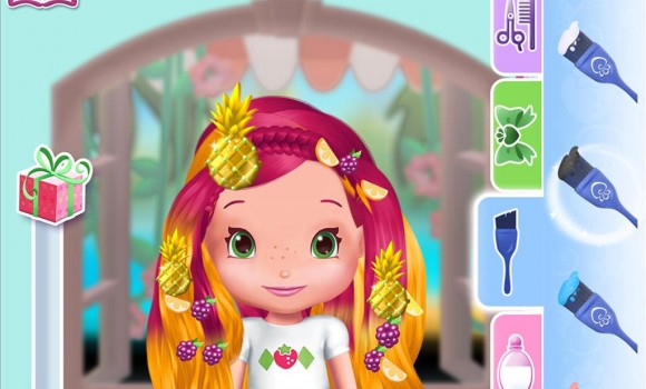 Strawberry Shortcake Holiday Hair Ekran Görüntüleri - 4