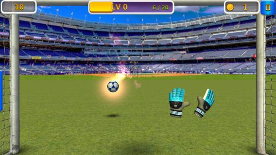 Super Goalkeeper - Soccer Game Ekran Görüntüleri - 1