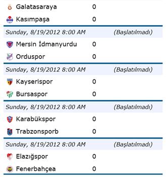 Süper Lig Ekran Görüntüleri - 2