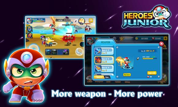 SuperHero Junior Ekran Görüntüleri - 4