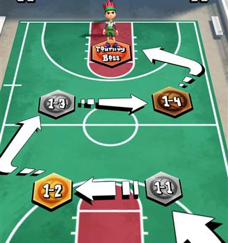 Swipe Basketball 2 Ekran Görüntüleri - 3