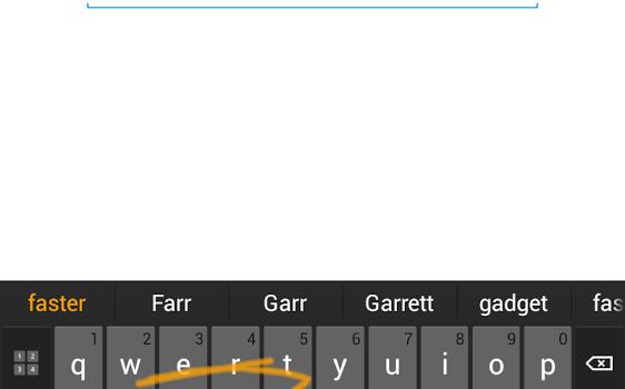 Swype Keyboard Ekran Görüntüleri - 1