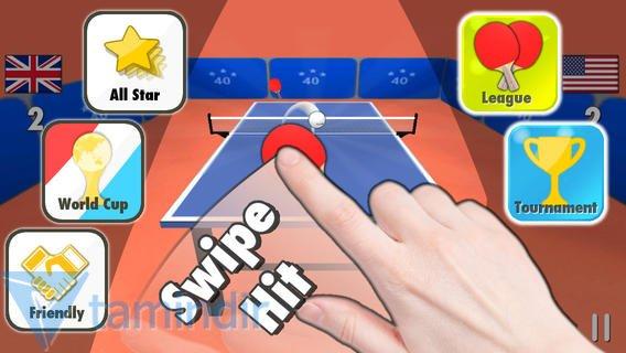 Table Tennis 3D Ekran Görüntüleri - 3