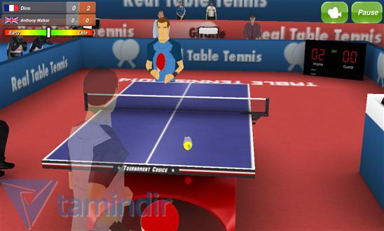 Table Tennis 3D Ekran Görüntüleri - 1