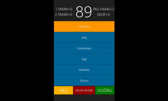 Tabu TR Ekran Görüntüleri - 1