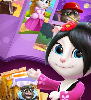 Talking Tom Bubble Shooter Ekran Görüntüleri - 1