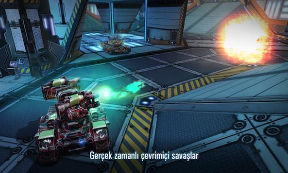 Tanks vs Robots Ekran Görüntüleri - 1