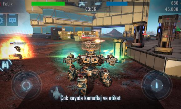 Tanks vs Robots Ekran Görüntüleri - 3
