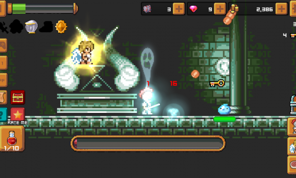 Tap Knight and the Dark Castle Ekran Görüntüleri - 4
