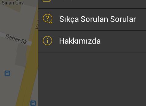TaxiBUL Ekran Görüntüleri - 2