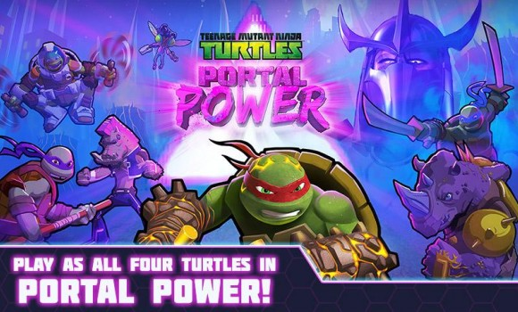Teenage Mutant Ninja Turtles Portal Power Ekran Görüntüleri - 5