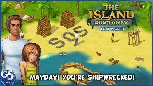 The Island Castaway: Lost World Ekran Görüntüleri - 5