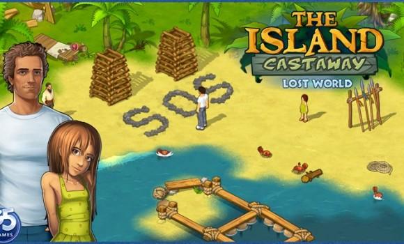The Island Castaway: Lost World Ekran Görüntüleri - 2