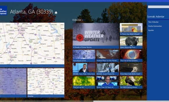 The Weather Channel Ekran Görüntüleri - 1