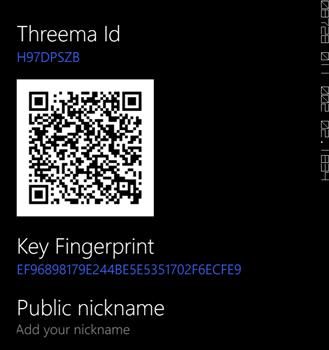 Threema Ekran Görüntüleri - 1