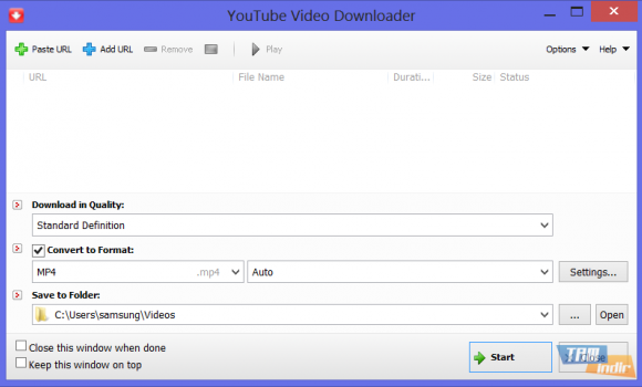 Tomabo YouTube Video Downloader Ekran Görüntüleri - 2