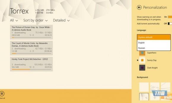 Torrex Lite Ekran Görüntüleri - 2