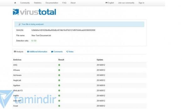 Total Virus Scanner Ekran Görüntüleri - 1