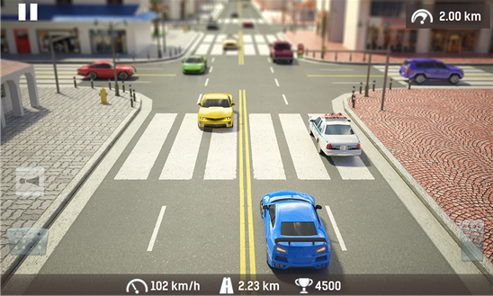 Traffic: Road Racing Ekran Görüntüleri - 2